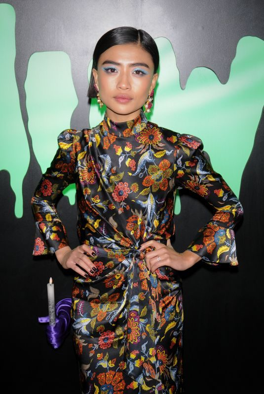 BRIANNE TJU at 2019 Huluween Celebration at New York Comic Con 10/04/2019