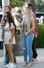 BRIELLE BIERMANN Out for Lunch at Il Pastaio in Beverly Hills 10/13/2019