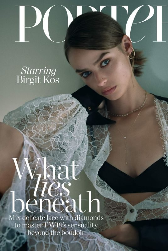 BRIGIT KOS for The Edit by Net-a-porter, October 2019
