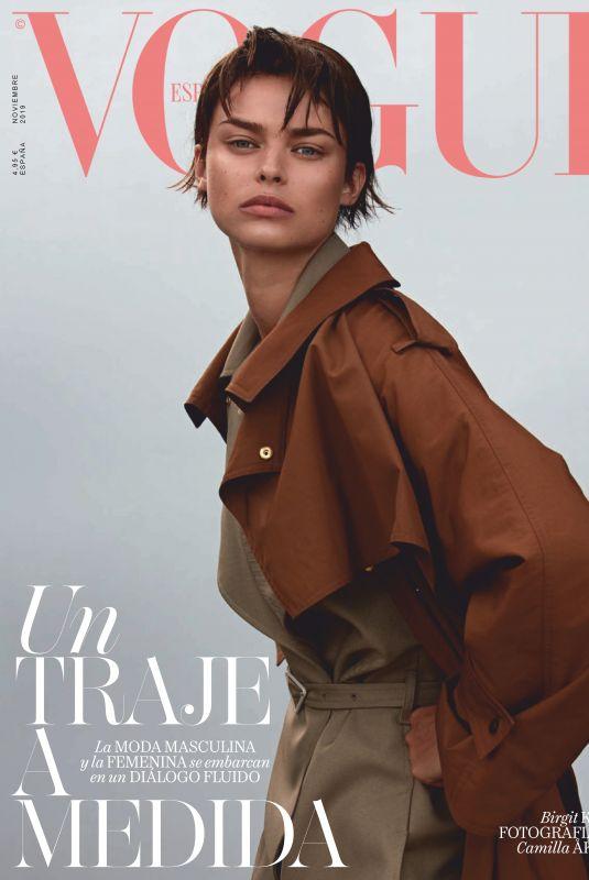 BRIGIT KOS in Vogue Magazine, Spain November 2019