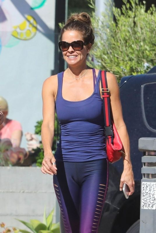 BROOKE BURKE at Out for Lunch in Malibu 10/18/2019