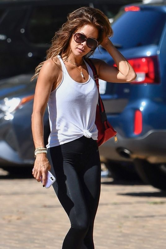 BROOKE BURKE Out and About in Malibu 10/02/2019