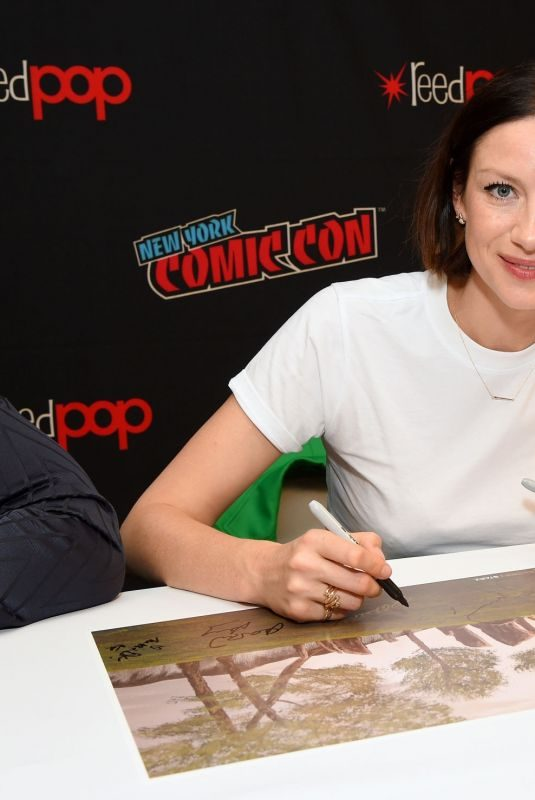 CAITRIONA BALFE at Autograph Session at 2019 New York Comic Con 10/05/2019