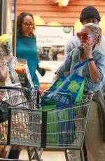 CAMERON DIAZ Shopping at Whole Foods in Beverly Hills 10/11/2019