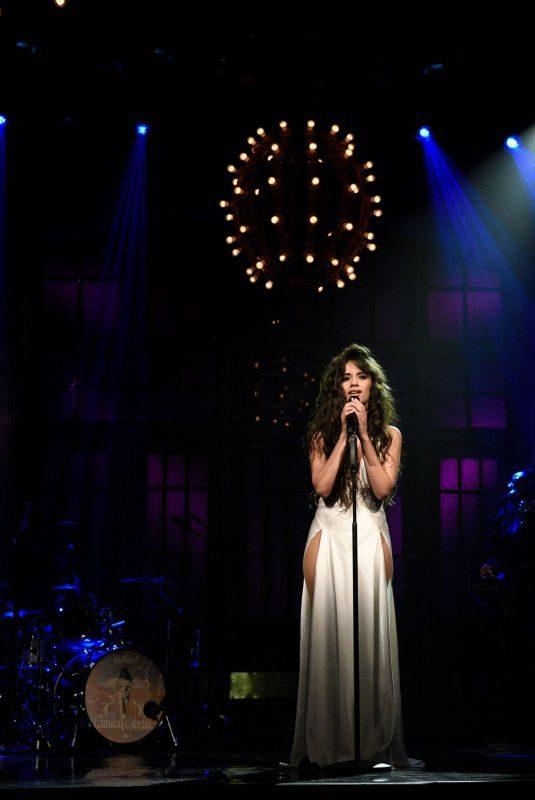CAMILA CABELLO Performs on Saturday Night Live in New York 10/12/2019