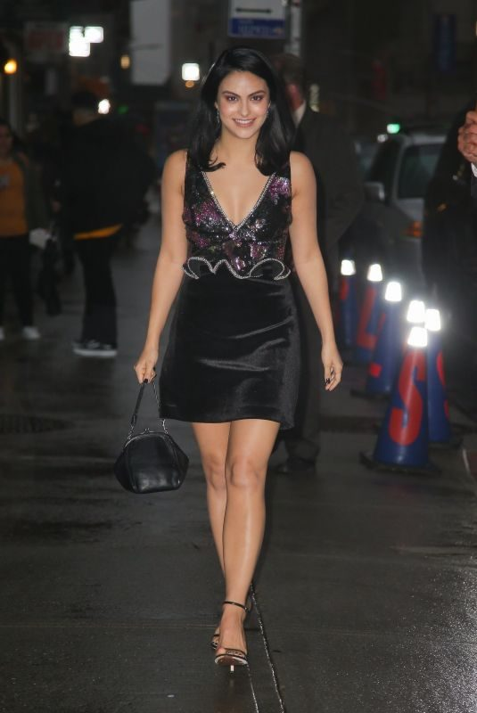 CAMILA MENDES Night Out in New York 10/22/2019