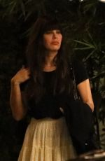 CAMILA MORRONE at San Vicente Bungalows in West Hollywood 10/15/2019