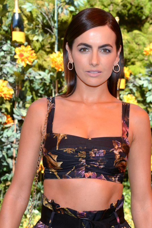 CAMILLA BELLE at Veuve Clicquot Polo Classic at Will Rogers State Park in Los Angeles 10/05/2019