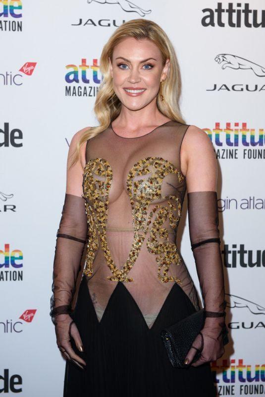 CAMILLA KERSLAKE at Virgin Atlantic Attitude Awards 2019 in London 10/09/2019