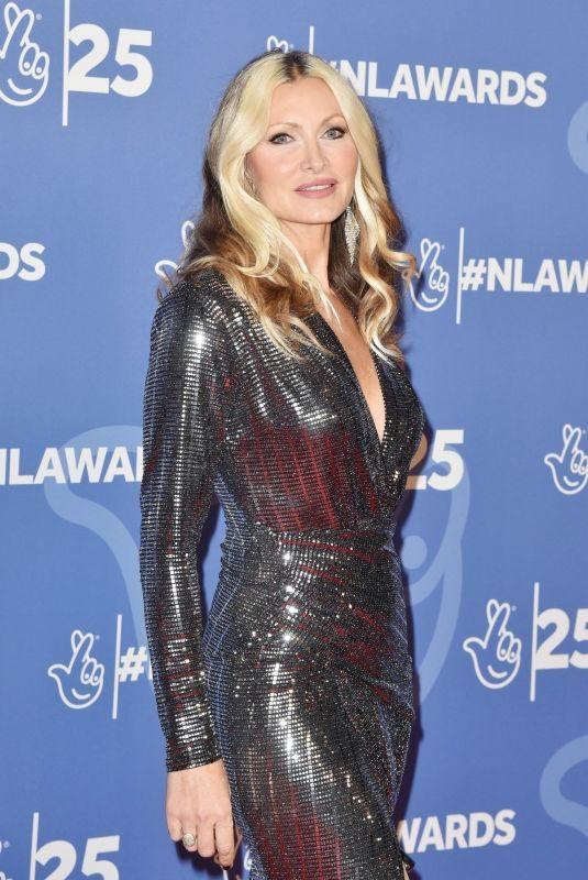 CAPRICE BOURRET at National Lottery Awards 2019 in London 10/15/2019