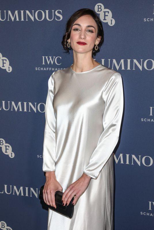 CARA HORGAN at BFI Luminous Fundraising Gala in London 10/01/2019