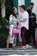 CARA SANTANA Out for Lunch in Los Angeles 10/18/2019