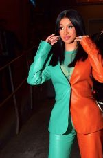 CARDI B at Vogue Forces of Fashion 10/10/2019
