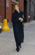 CARINE ROITFELD Leaves Studio in New York 10/26/2019