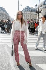 CARLA GINOLA at Balmain Show at Paris Fashion Week 09/27/2019