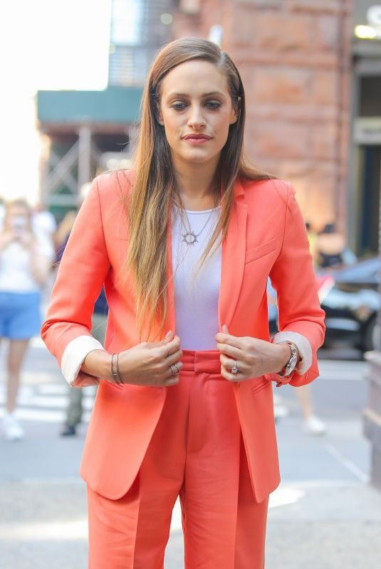 CARLY CHAIKIN Arrives at AOL Build in New York 10/02/2019