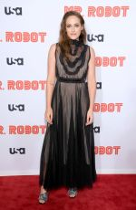 CARLY CHAIKIN at Mr. Robot, Season 4 Premiere in New York 10/01/2019