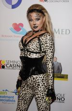 CARMEN ELECTRA at Fright Nights Halloween Costume Party in Coconut Creek 10/17/2019