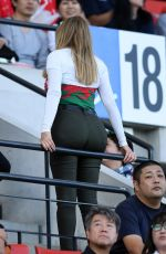 CAROL VORDERMAN at Wales vs Uruguay Rugby World Cup Match in Japan 10/13/2019