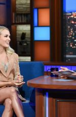 CARRIE UNDERWOOD at Late Show with Stephen Colbert 10/03/2019