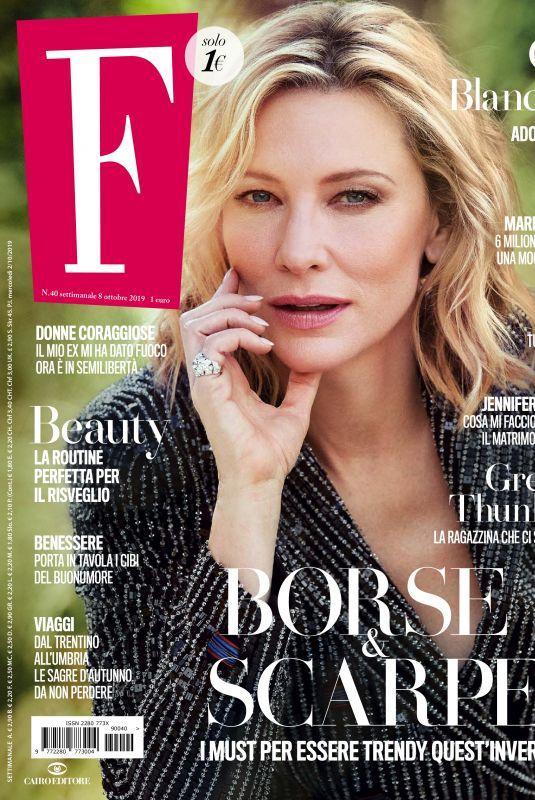 CATE BLANCHETT in F Magazine, October 2019