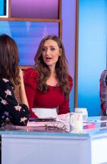 CATHERINE TYLDESLEY at Loose Women Show in London 10/24/2019