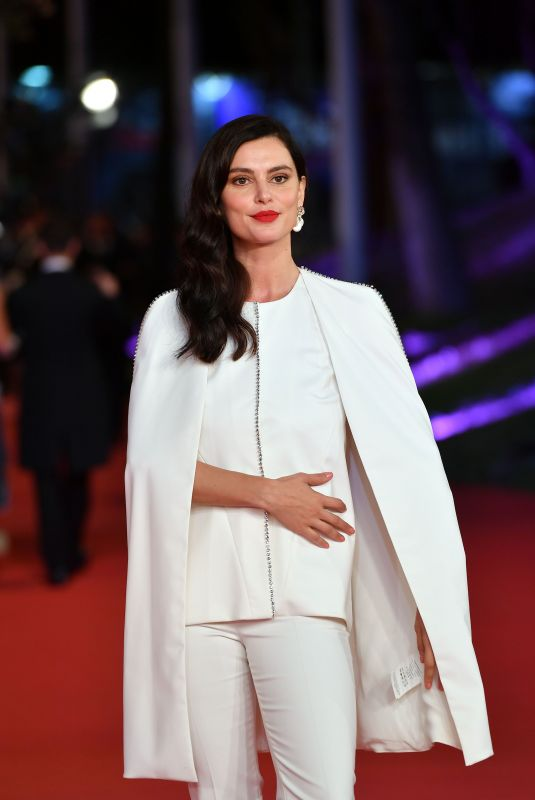 CATRINEL MENGHIA at Downton Abbey Premiere at 14th Rome Film Festival 10/19/2019