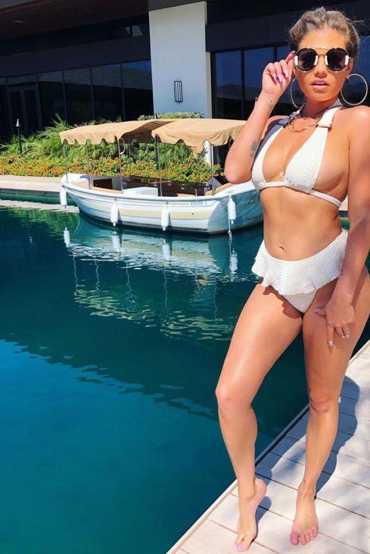 CHANEL WEST COAST in a White Bikini – Instagram Photos 09/30/2019