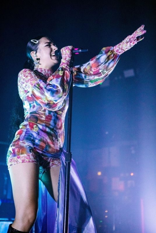 CHARLI XCX Performs at O2 Institute in Birmingham 10/28/2019