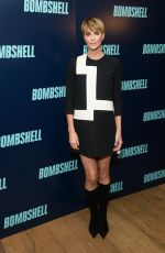 CHARLIZE THERON at Bombshell Screening in New York 10/20/2019