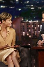 CHARLIZE THERON at Jimmy Kimmel Live in Hollywood 10/07/2019