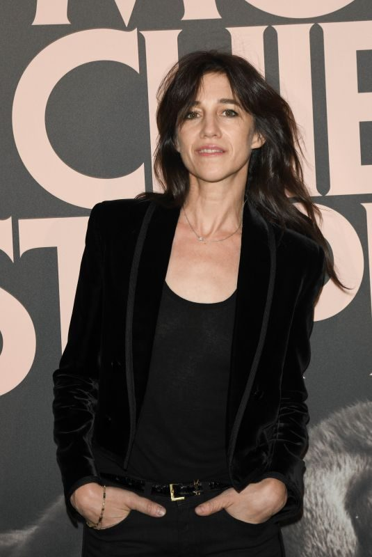 CHARLOTE GAINSBOURG at Mon Chien Stupide Premiere in Paris 10/22/2019