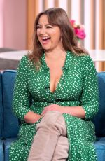 CHARLOTTE CHURCH at This Morning Show in London 10/15/2019
