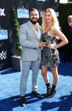 CHARLOTTE FLAIR at WWE Friday Night Smackdown on Fox Premiere in Los Angeles 10/04/2019