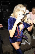 CHARLOTTE MCKINNEY at Casamigos Halloween Party in Beverly Hills 10/25/2019