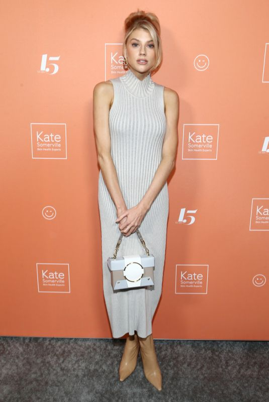 CHARLOTTE MCKINNEY at Kate Somerville Clinic Celebrates 15 Years on Melrose in Los Angeles 10/10/2019