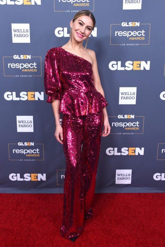 CHELSEA KANE at 2019 Glsen Respect Awards in Beverly Hills 10/25/2019