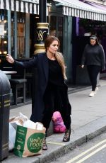 CHERYL COLE Out and About in London 10/25/2019