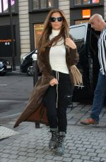 CHERYL COLE Out and About in Paris 09/27/2019