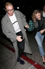 CHLOE MORETZ and Her Brother Trevor Arrive at a Private Louis Vuitton Dinner in West Hollywood 10/12/2019
