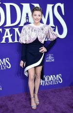 CHLOE MORETZ at The Addams Family Premiere in Los Angeles 10/06/2019
