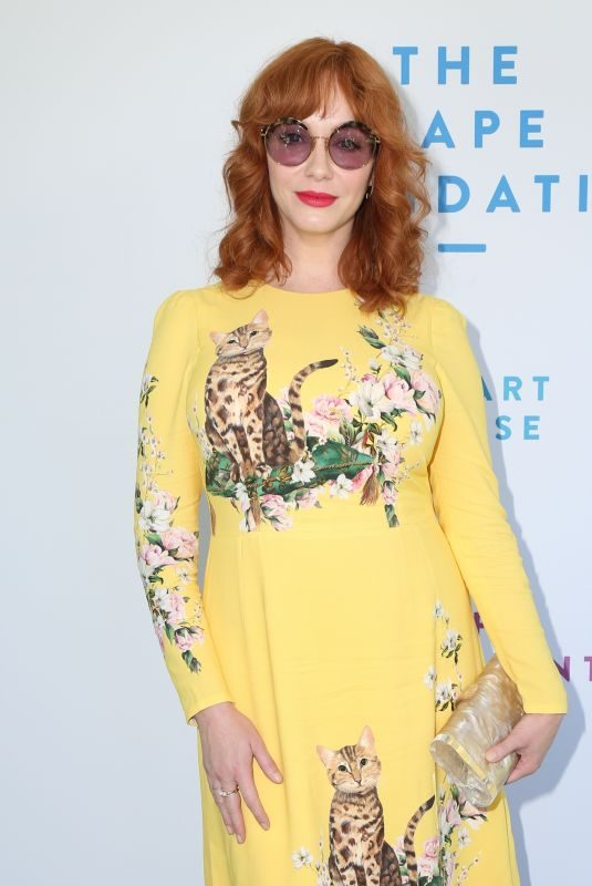 CHRISTINA HENDRICKS at Rape Foundation's 2019 Annual Brunch in Beverly Hills 10/06/2019