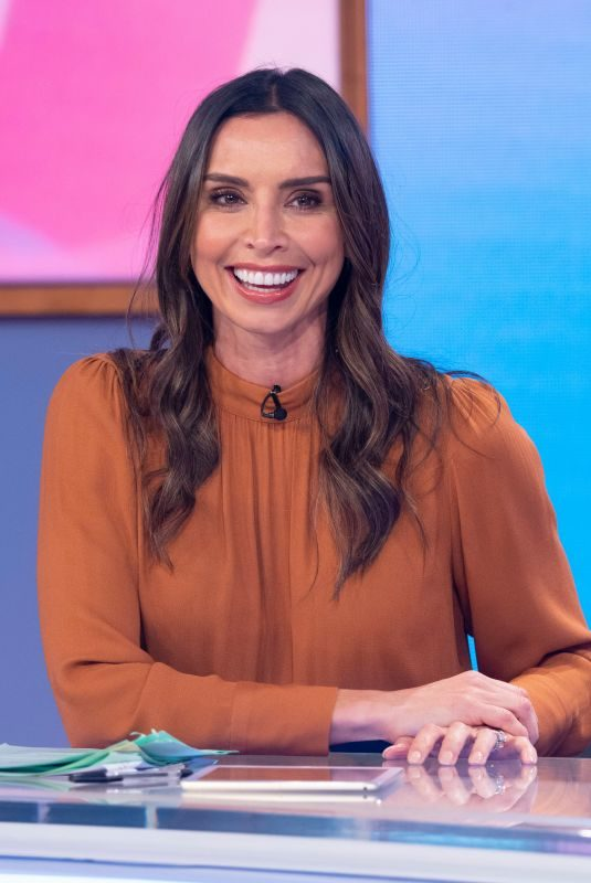 CHRISTINE LAMPARD at Loose Women Show in London 10/10/2019