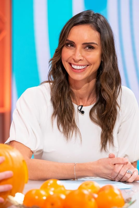 CHRISTINE LAMPARD at Lorraine Show in London 10/24/2019
