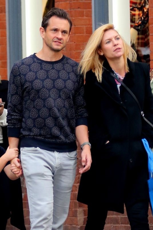 CLAIRE DANES and Hugh Dancy Out in New York 10/26/2019