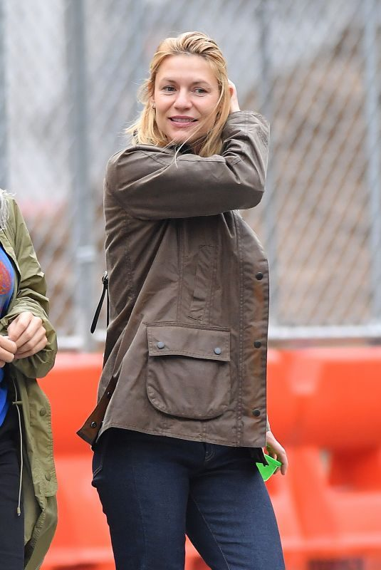 CLAIRE DANES Out and About in New York 10/30/2019