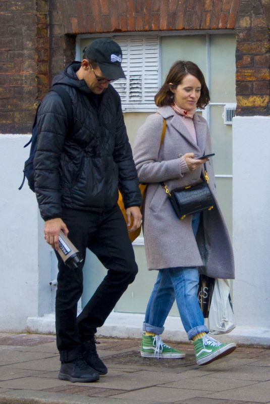 CLAIRE FOY and Matt Smith Out in London 10/09/2019