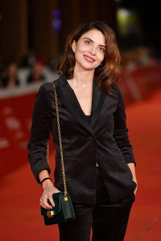 CLAUDIA POTENZA at Downton Abbey Premiere at 14th Rome Film Festival 10/19/2019