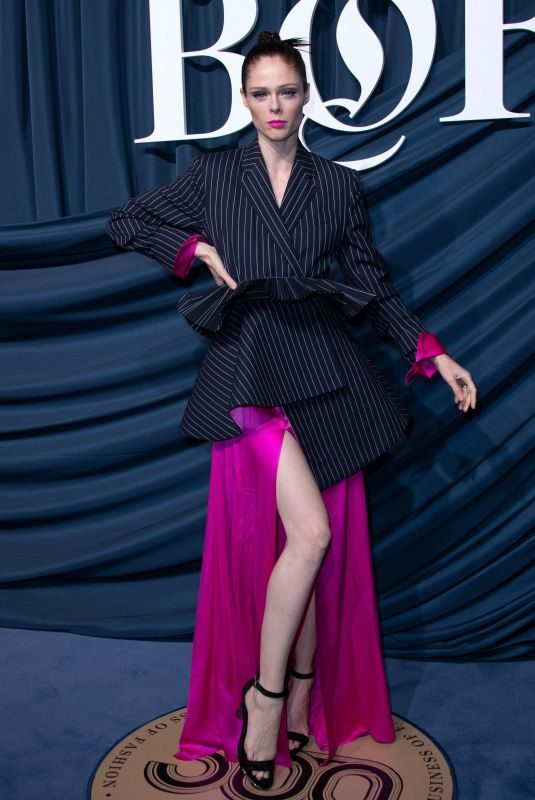COCO ROCHA at Bof 500 Gala at Paris Fashion Week 09/30/2019