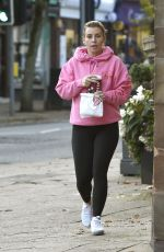COLEEN ROONEY Out for Coffee in Leeds 10/14/2019
